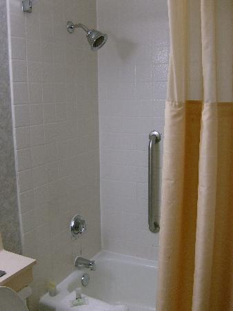 Holiday Inn Burbank: The (expensive-looking) Moen shower head is great.