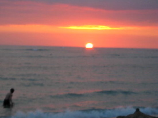 Hawaï: Another beautiful sunset!