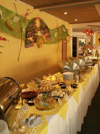 Hotel Schoenblick: Asiatisches Buffet - war sehr lecker