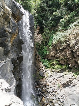 Karnataka, Indien: Second lap of the falls