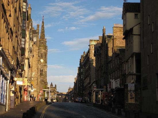 Edinburgh, UK: The Royal Mile