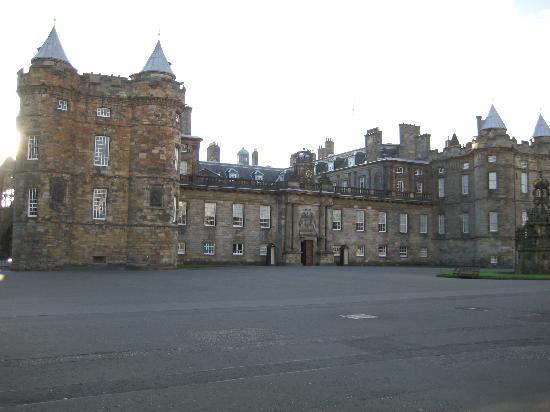 Edinburgh, UK: The Palace of Holyrood House