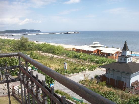 Wanda Hotel Sopot: View from one of the rooms