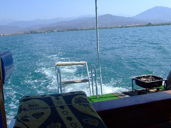 Calis Beach: Water taxi Calis - Fethiye
