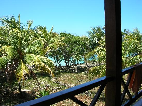 Baracoa, Kuba: From the room's balcony