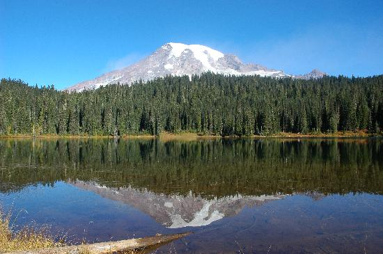 Rainier, วอชิงตัน: Reflections Lake