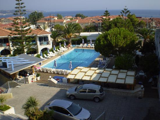 Contessa Hotel : View from Restaurant of Hotel
