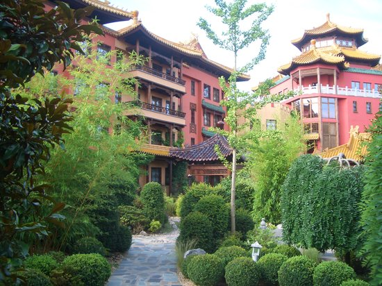 Bruhl, Germany: Aussenansicht Hotel Ling Bao