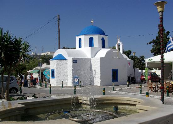 Sagterra Studios: church in the square, Chora
