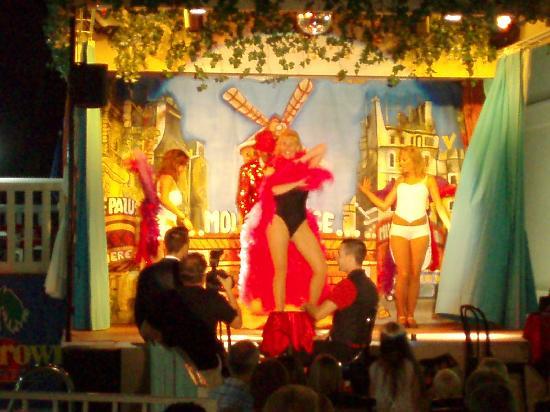 Crown Resorts Club Marbella / Club Regency Palms: Scene from the show at Club Marbella