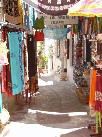 Sagterra Studios: Colourful street, Chora
