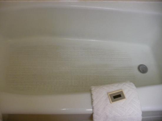 Clarion Hotel: Dirty bath/shower ,room 1