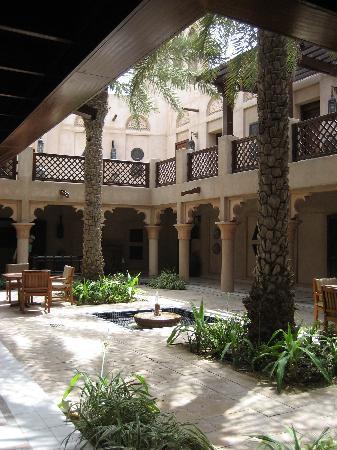 Jumeirah Dar Al Masyaf at Madinat Jumeirah: Villa's enclosed central courtyard
