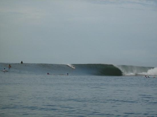 San Miguel, El Salvador: Surf en las Flores, cerca del Espino
