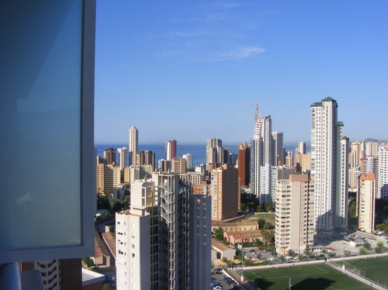 Benidorm, Spain: another view from our room