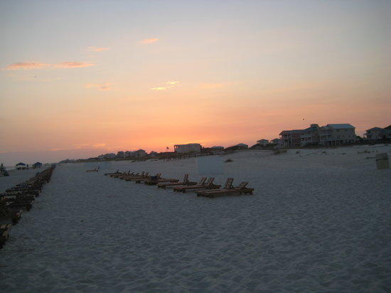 Gulf Shores Plantation: Sunset on beach