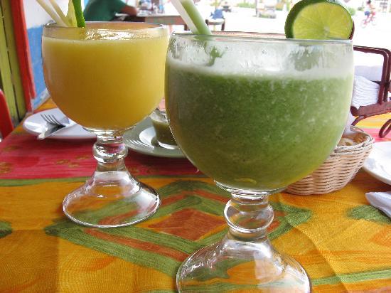 Holbox Hotel Casa las Tortugas - Petit Beach Hotel & Spa: refrescos naturales, La isla del colibrí