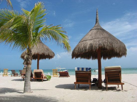 Holbox Hotel Casa las Tortugas - Petit Beach Hotel & Spa: la playa