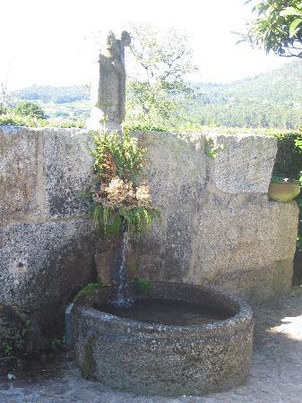 Quinta De Santa Comba: fountain