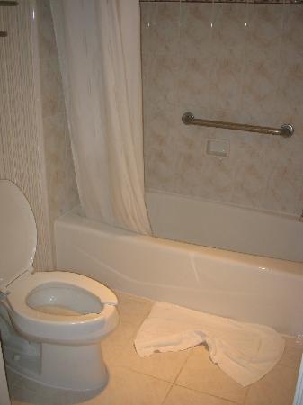 Comfort Inn Palo Alto: salle de bain