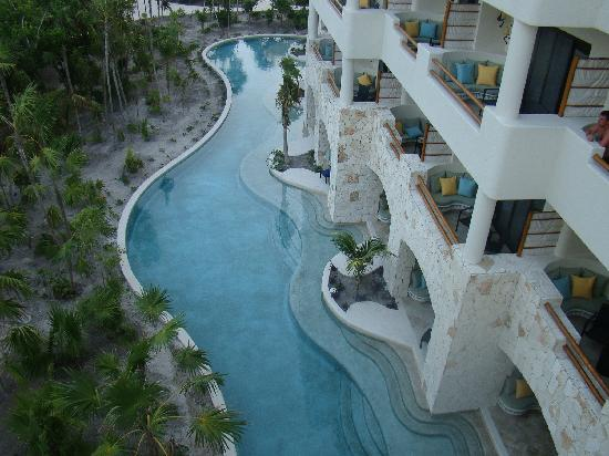 Secrets Maroma Beach Riviera Cancun: SMB: Balcony and Swim Out View