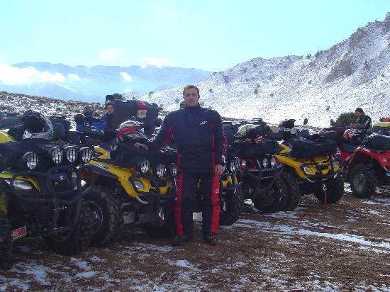 Marrakech, Morocco: En Marrueco también nieva