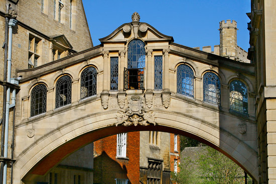 Οξφόρδη, UK: Bridge of Sighs