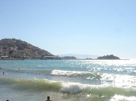 Kusadasi, Turkiet: the sea
