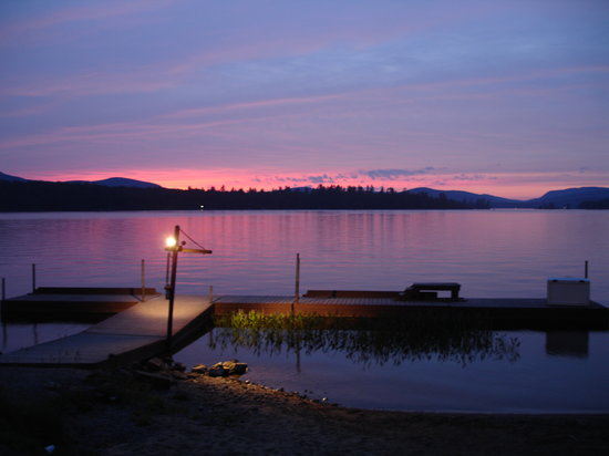 Adirondack, NY: Second Sunset