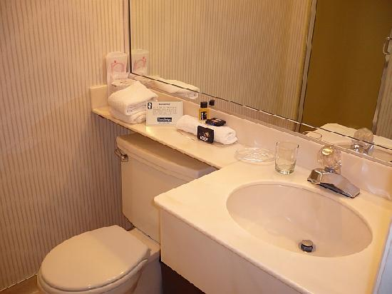 The Dylan Hotel at SFO: Bathroom in Second Room