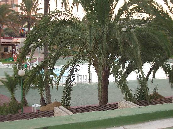 Evenia Zoraida Park: view from our window