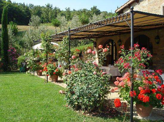 Casa Portagioia: Fruehstueckterrasse