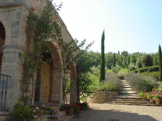 Casa Portagioia: Poolaufgang