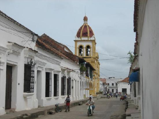 Mompos, Colombie : Strassenzug in Mompox