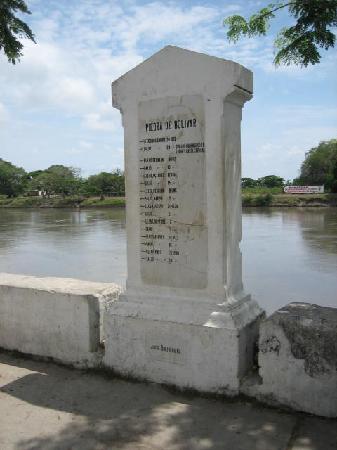 Mompos, Colombie : Hochwasserstände in den Jahren
