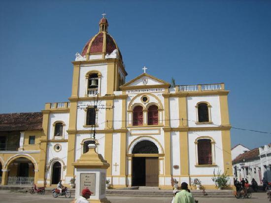 Mompos, Colombia: Iglesia de la concepcion