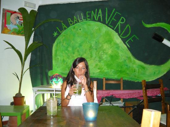 Hotel Pozo del Duque: Rico Mojito en La Ballena Verde