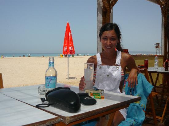 Hotel Pozo del Duque: Chiringuitos de la playa de Zahara