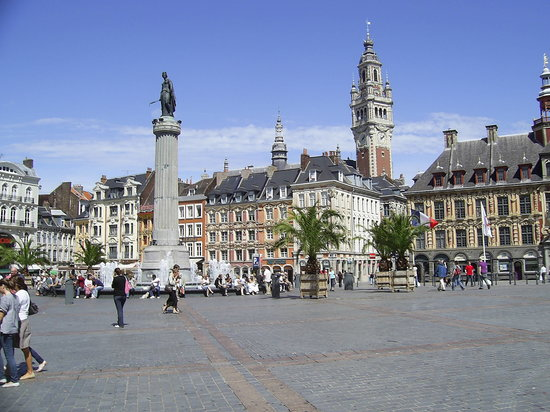 Photo of Monument / Landmark Grand place at Lille, France