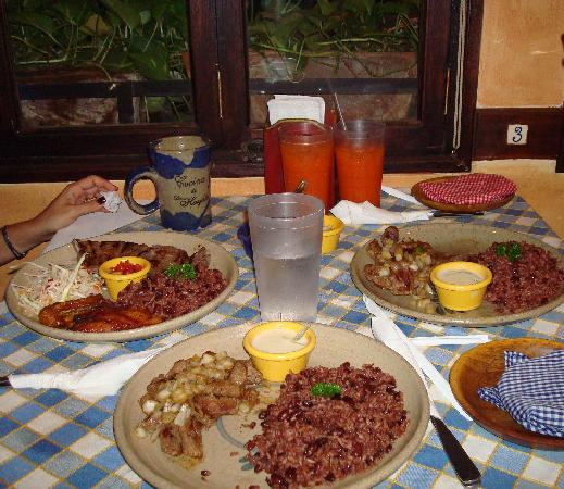 Hotel el Gran Marquez: Typical food at Rest...very good