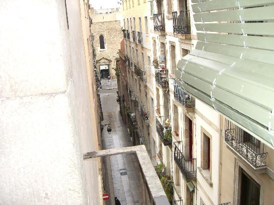 Casa Camper Hotel Barcelona: View from Room...