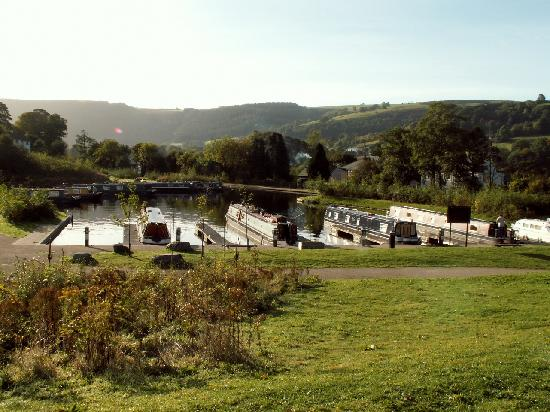North Wales, UK: Llangollen Marina