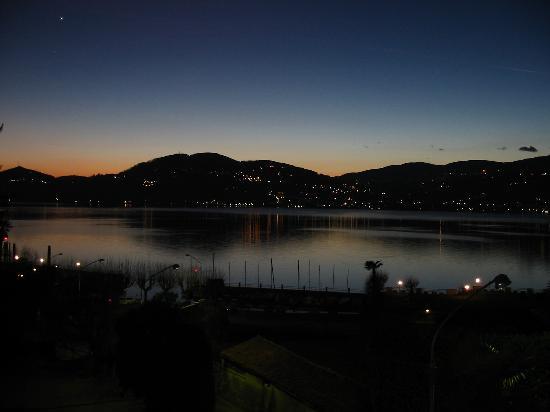 Hotel Ristorante Belvedere : tramonto da una stanza