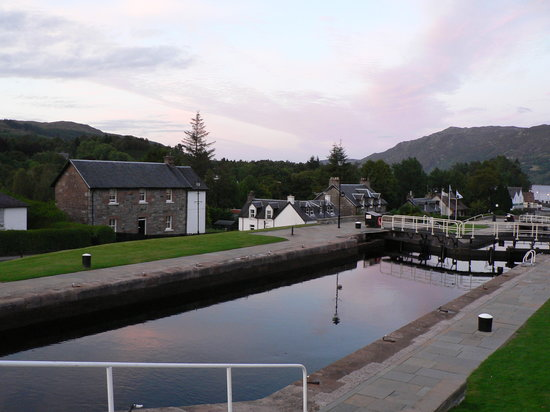 The Canal at Fort Augustus