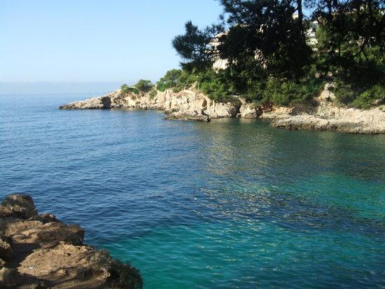 Portals Nous, Espagne : vista della spiaggia dell'hotel