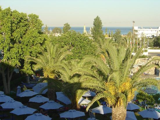 Sun Palace Hotel: balcony view