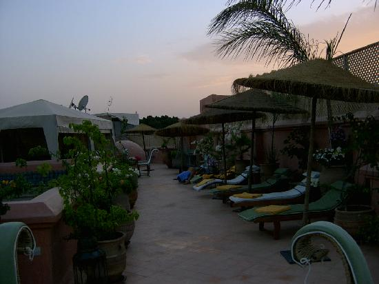 Riad Dar Anika: The rooftop terrace