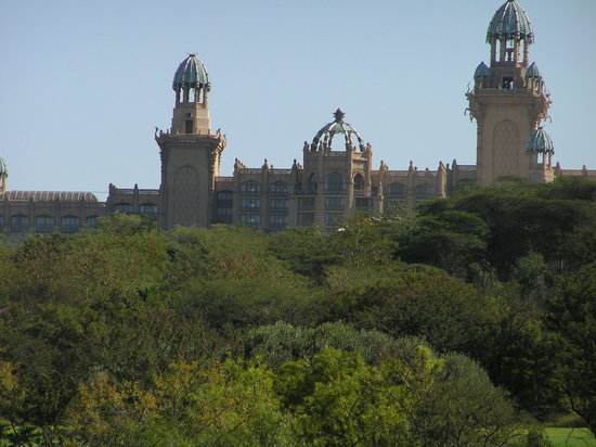 Sun City, Zuid-Afrika: Palace and view