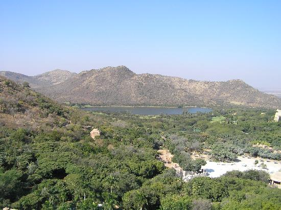 View of sun city - valley of the waves.