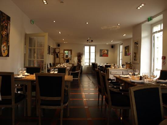 Auberge de la Source: restaurant gorgeous